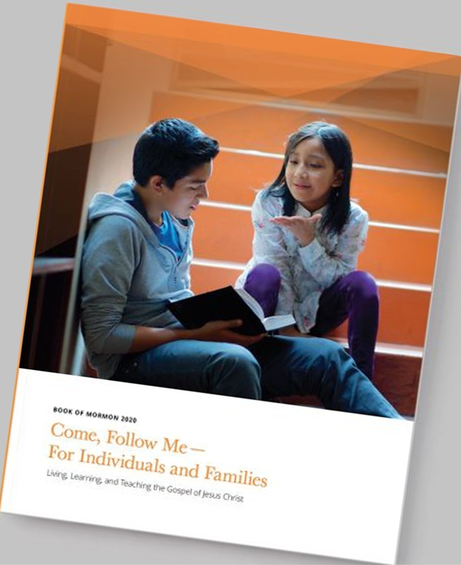 Image of the Come, Follow Me - For Indiciduals and Families Book of Mormon manual
