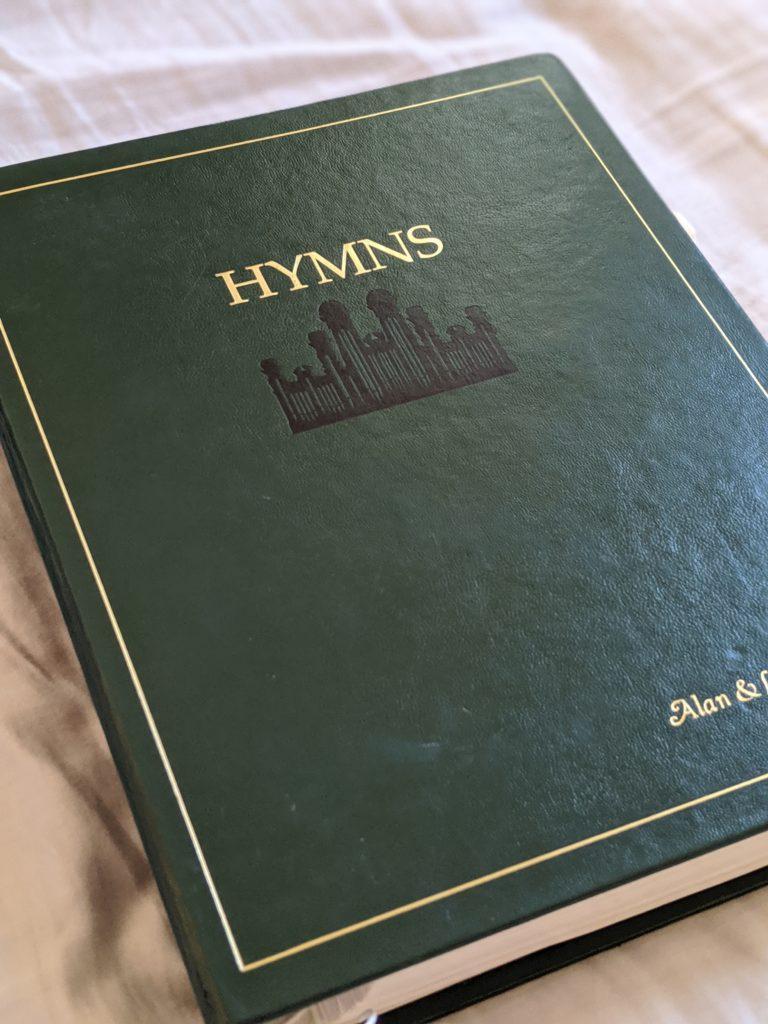 Green hymn book