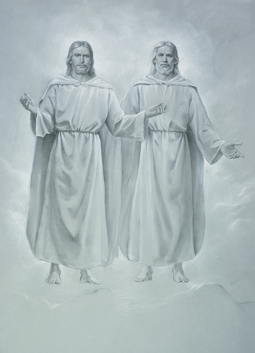 Jesus Christ and Heavenly Father standing together