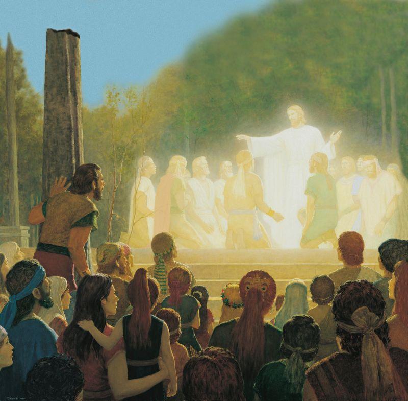 Christ Blessing the Nephite Apostles